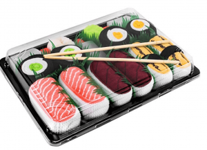 5 paires sushis