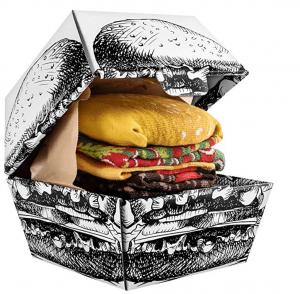 chaussettes fantaisie burger