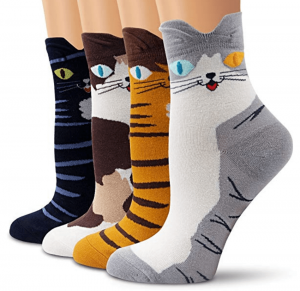 chaussettes chats