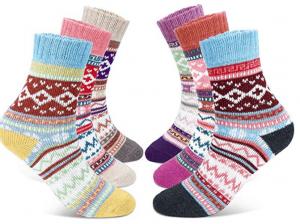 chaussettes laine feme